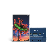"Load image into Gallery viewer, ""mama's boy"" collectible cassette 1/4: lany"
