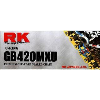 RK RK 420MXU U-RING CHAIN GOLD 136L