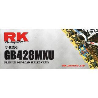 RK RK 428MXU U-RING CHAIN GOLD 136L