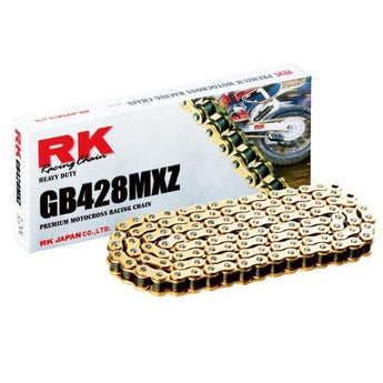 RK RK428MXZ x 126L RACE CHAIN GOLD