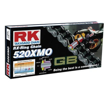 RK RK520XMO x 120L X'RING GOLD