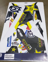 Husqvarna Rockstar Factory Replica Graphics Kit FC 16-18 FE TE 17-19