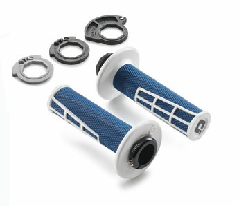 Husqvarna Genuine ODI Lock On Grip Set Grips Blue White TX TE FE FC FX