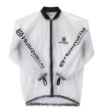 Husqvarna RAIN JACKET TRANSPARENT L
