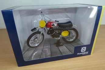 Husqvarna 1970 Cross 400 Die Cast Model 1:12 Scale B.ABERG Replica Toy Collectable