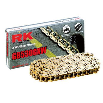 RK RK530GXW x 120L RACE CHAIN GOLD