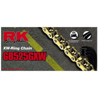 RK RK525GXW x 120L XW'RING CHAIN GOLD