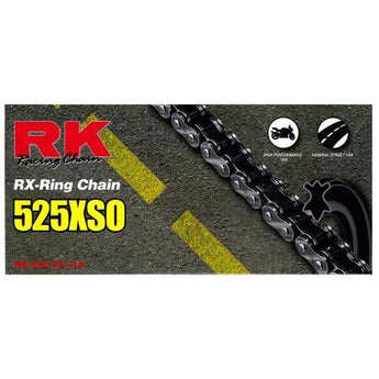 RK RK525XSO x 124L X'RING CHAIN