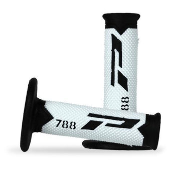Progrip 788 Fluro White Triple Density Progrip Mx Grips