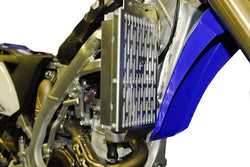 Force Yamaha YZF YZ250F 2010-2013 Radiator Guards - Black