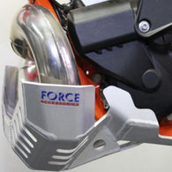 Force 250/300EXC 17+ HUSQ TE250/300 17+ PIPE GUARD SATIN