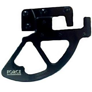 Force KTM/HUSA DISC PROTECTOR BLACK