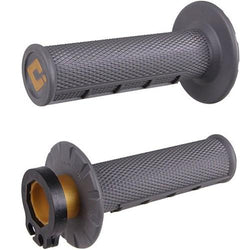 ODI V2 Lock On Grips MX Half Waffle Graphite Soft 2T 4T