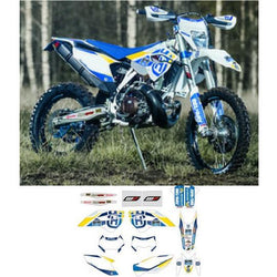 Husqvarna GRAPHIC KIT FACTORY ENDURO