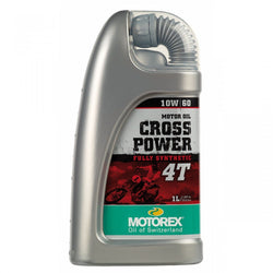 Motorex Cross Power 4T 10W60  - 1 Litre