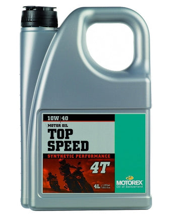 Motorex Top Speed MC 4T 10W40 - 4 litre