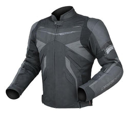 Dririder Climate Control EXO 2 Jacket - Black Leather & Textile Summer