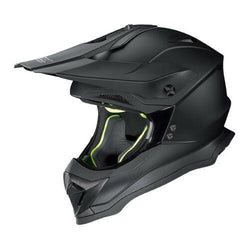 Nolan N-53 Start Flat Black 10 Adult Helmet Dirt MX Enduro