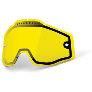 100% ADULT VENTED DUAL LENS YELLO