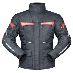 Dririder Vortex Pro Tour Jacket - Black Mens Textile - Small to XL