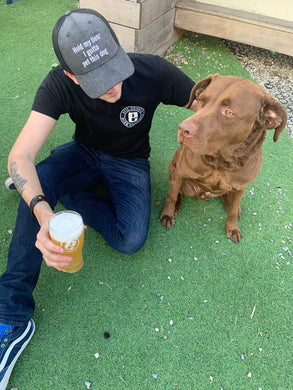 Hold My Beer I Gotta Pet This Dog - Snapback!