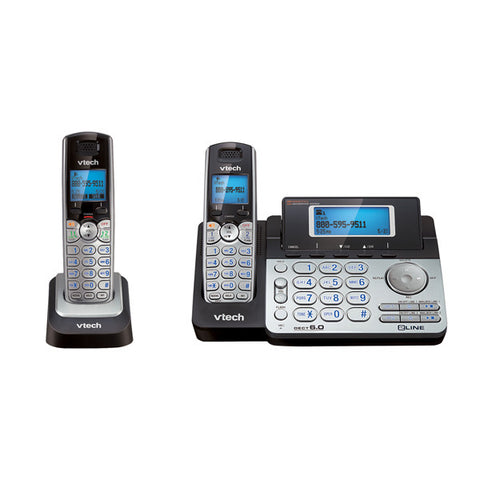 Dect 6.0 2 Line Cordless Phone With Answering And Addtl Handset