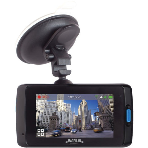 MAGELLAN MV0658SGXXX MiVue(TM) 658 HD DashCam with Wi-Fi Upload