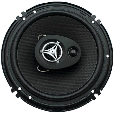 "POWER ACOUSTIK EF-653 Edge Series Coaxial Speakers (6.5"", 3 Way, 400 Watts max)"