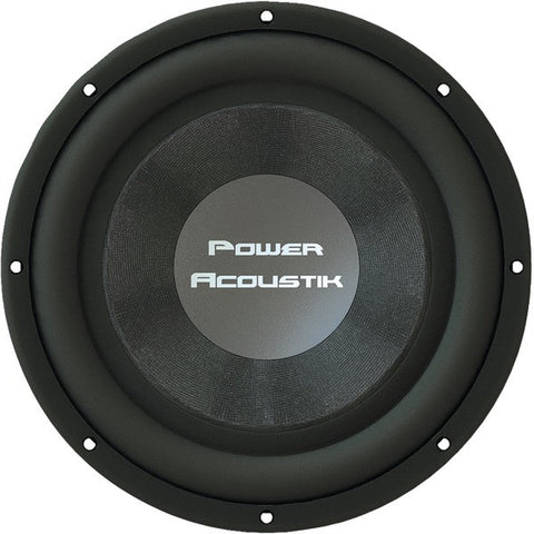 "POWER ACOUSTIK THIN-124 THIN Series 12"" 2,000-Watt Shallow-Mount Subwoofer"