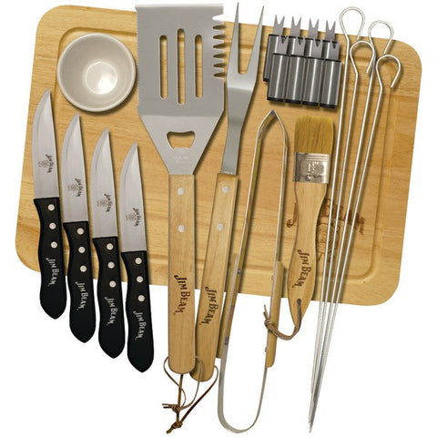 JIM BEAM JB0102 22-Piece Grilling Set