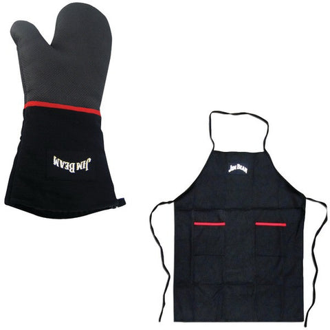 Kit - Classic Grill Apron, Heavy-duty Cooking Mittens