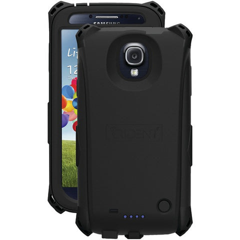 TRIDENT EL-SAM-S4-BK Samsung(R) Galaxy S(R) 4 Electra Series(TM) Battery Case with Belt Clip Holster