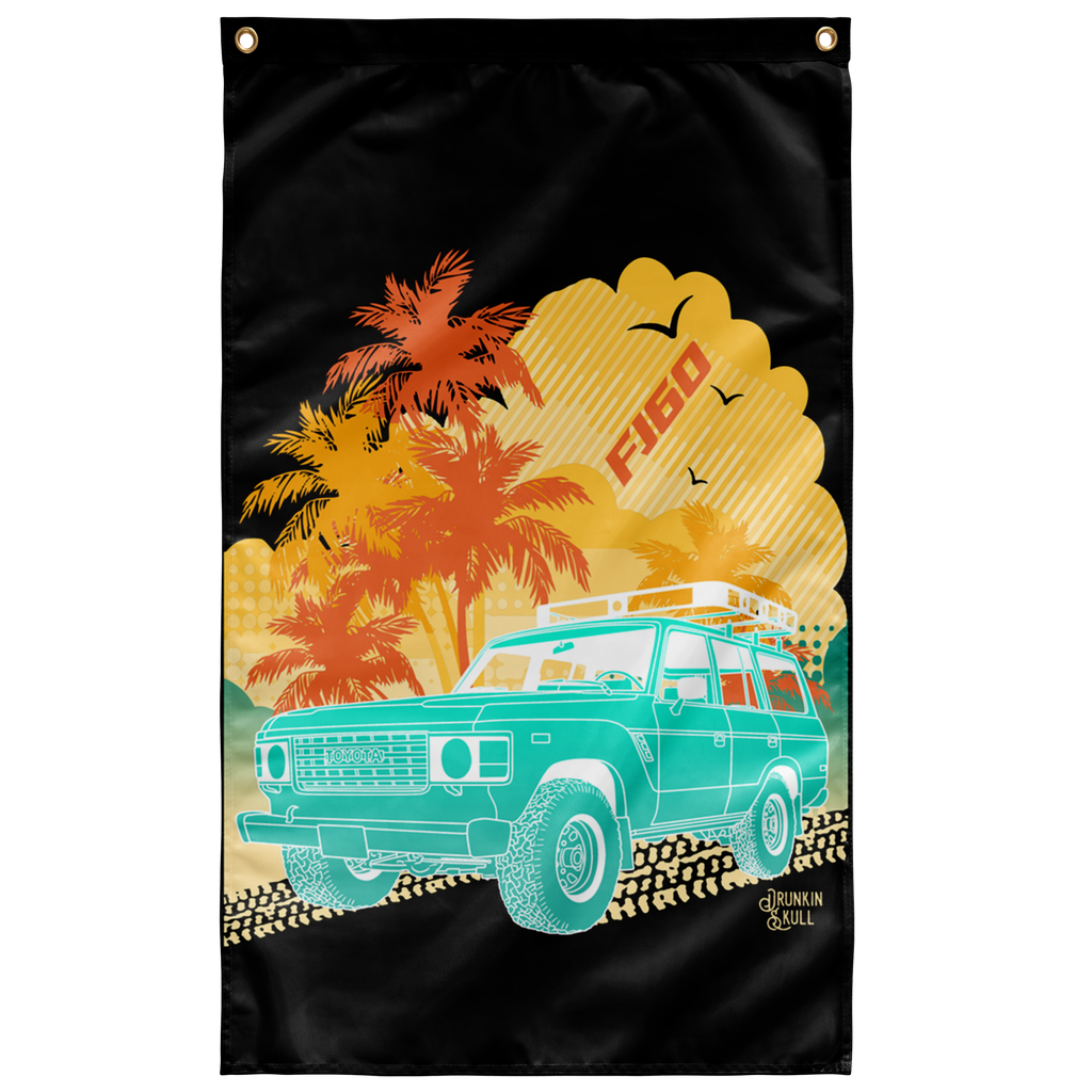 FJ60 Aloha Series 3x5 Wall Flag