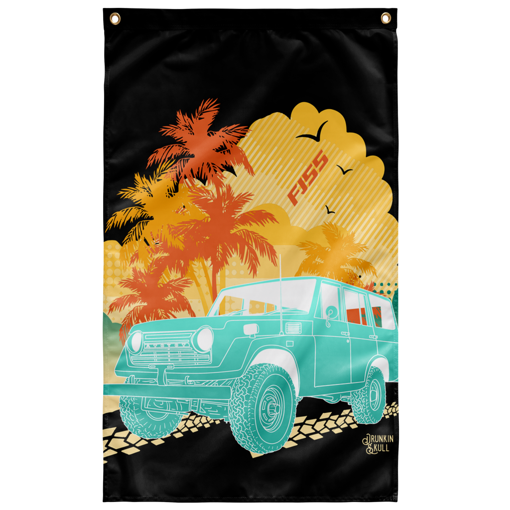 FJ55 Aloha Series 3x5 Wall Flag