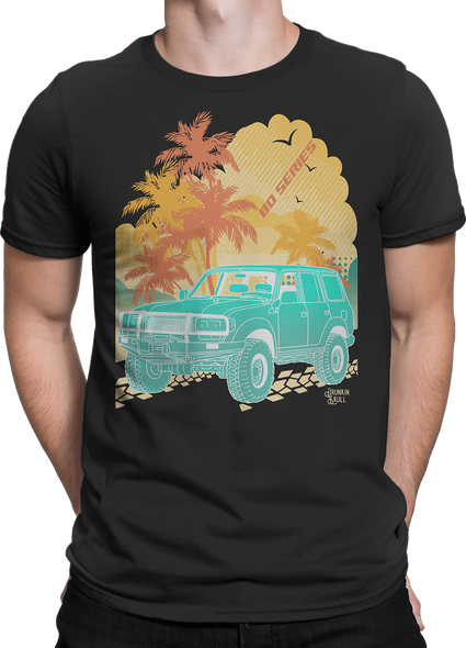 Land Cruiser 80 Series Aloha Series Tee
