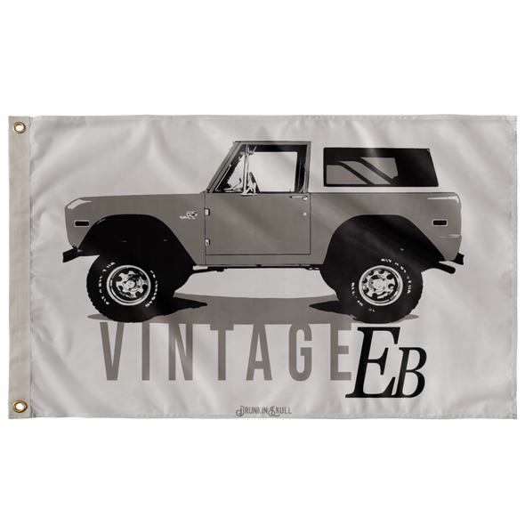Ford Early Bronco Vintage 3x5 Wall Flag