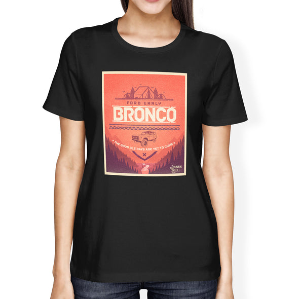 Ford Early Bronco Adventure Series Ladies Tee