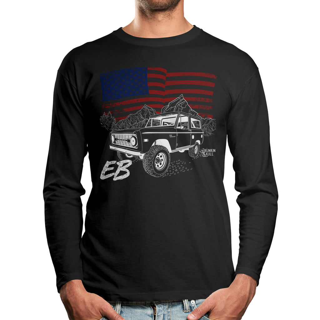 Ford Early Bronco Heritage Series Long Sleeve Tee