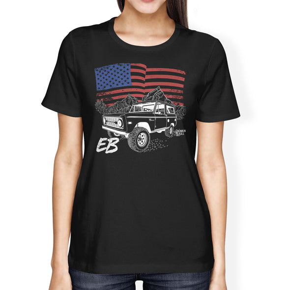 Ford Early Bronco Heritage Series Ladies Tee