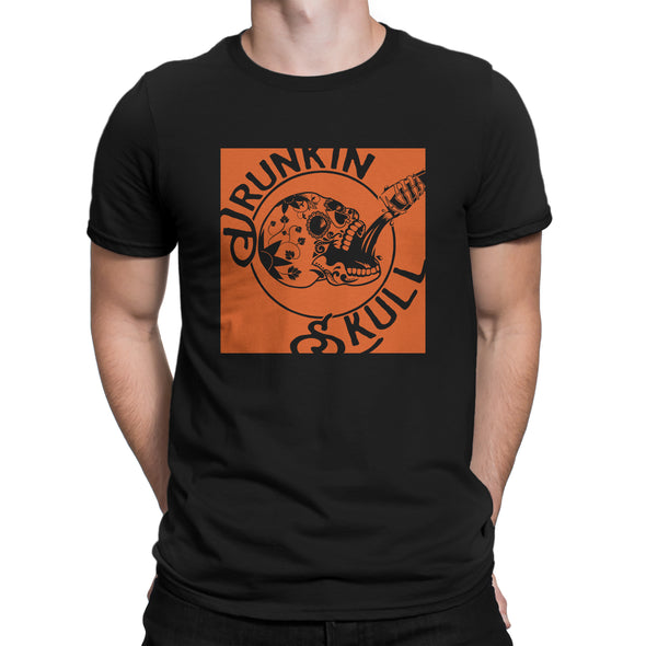 Drunkin Skull Co. Ring Spun Cotton Graphic Tee