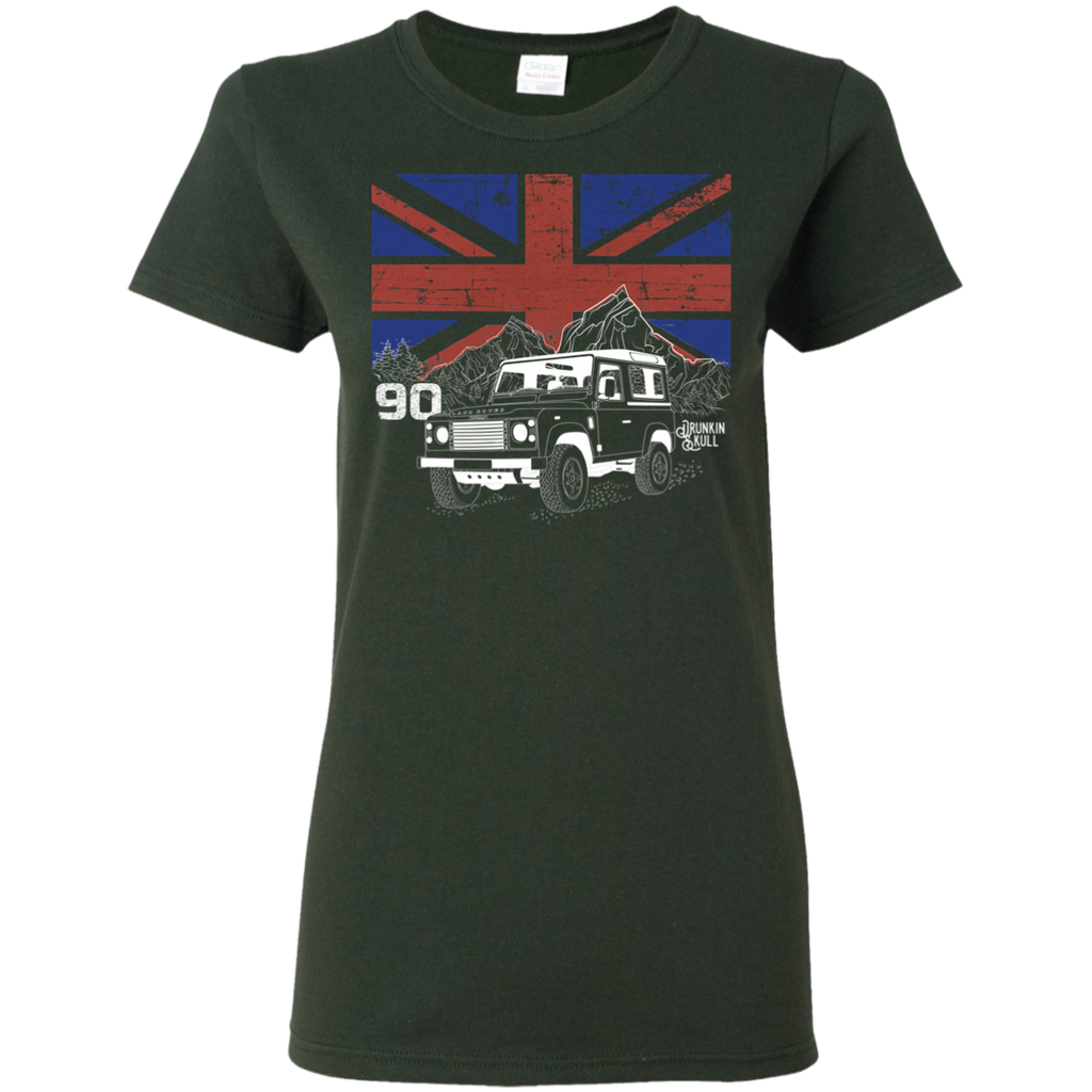 Defender 90 Heritage Series Ladies Tee