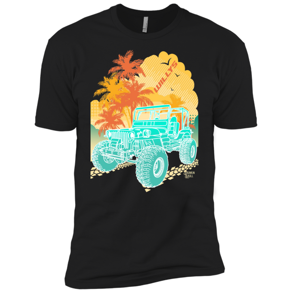 Jeep Willys Aloha Series Tee