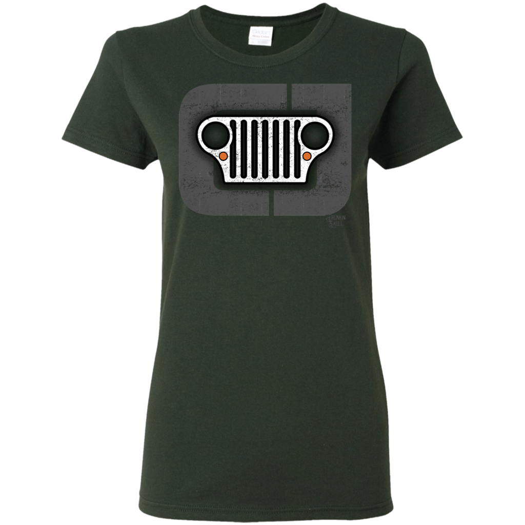 Jeep CJ Grill Ladies Tee