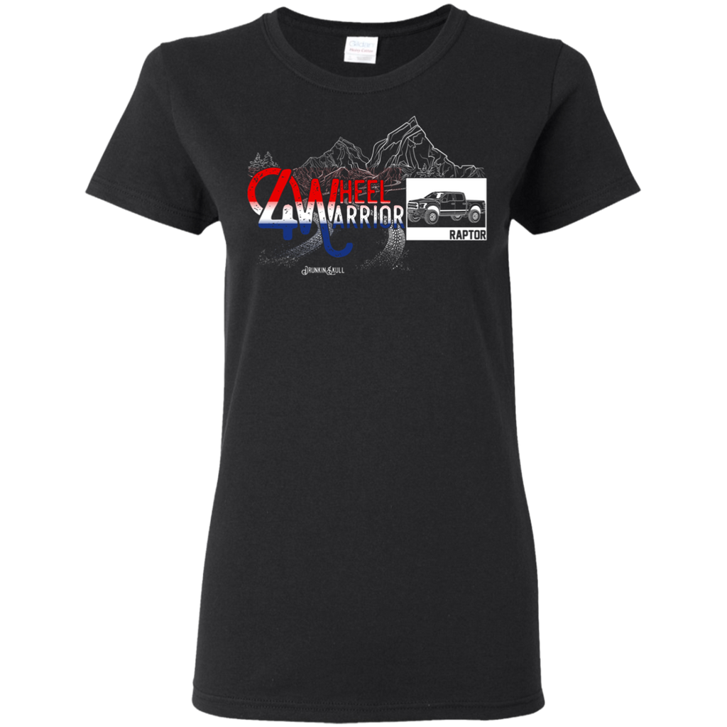 Ford Raptor 4 Wheel Warrior Ladies Tee