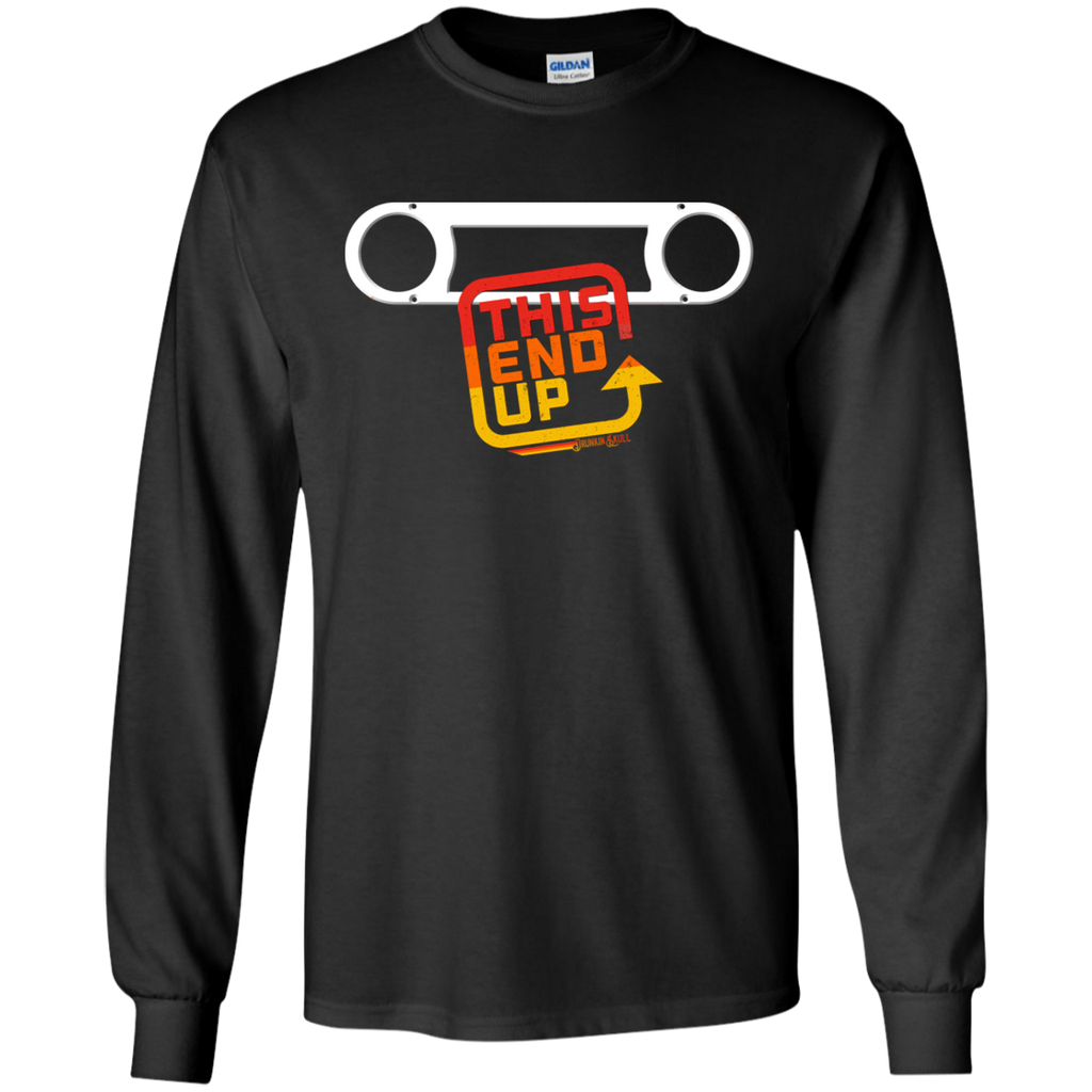 FJ40 Toyota Land Cruiser Bezel Long Sleeve Tee