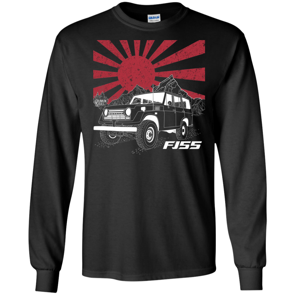 FJ55 Toyota Land Cruiser Heritage Series Long Sleeve T-Shirt