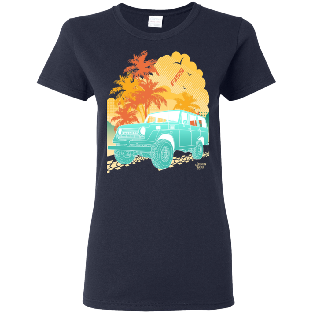 FJ55 Toyota Land Cruiser Aloha Series Ladies T-Shirt