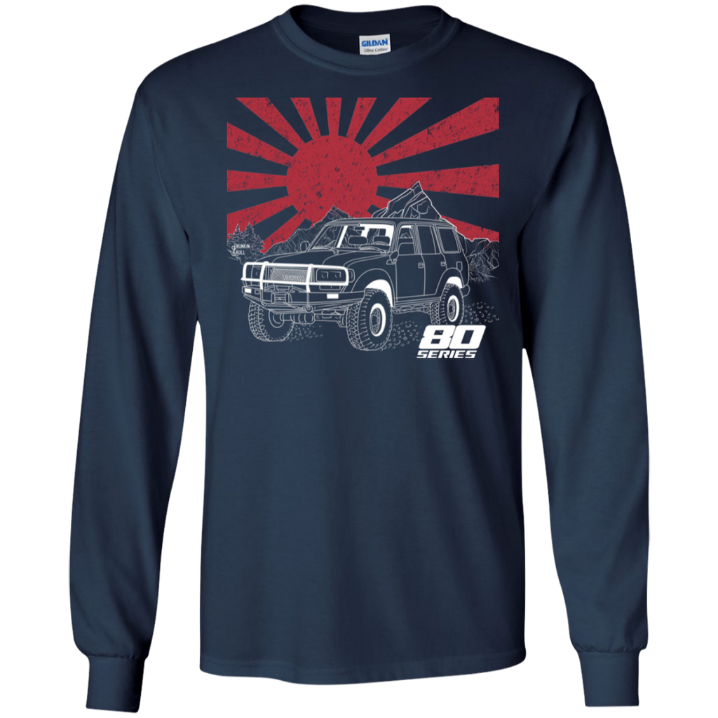 Land Cruiser 80 Series Heritage Series Long Sleeve tee