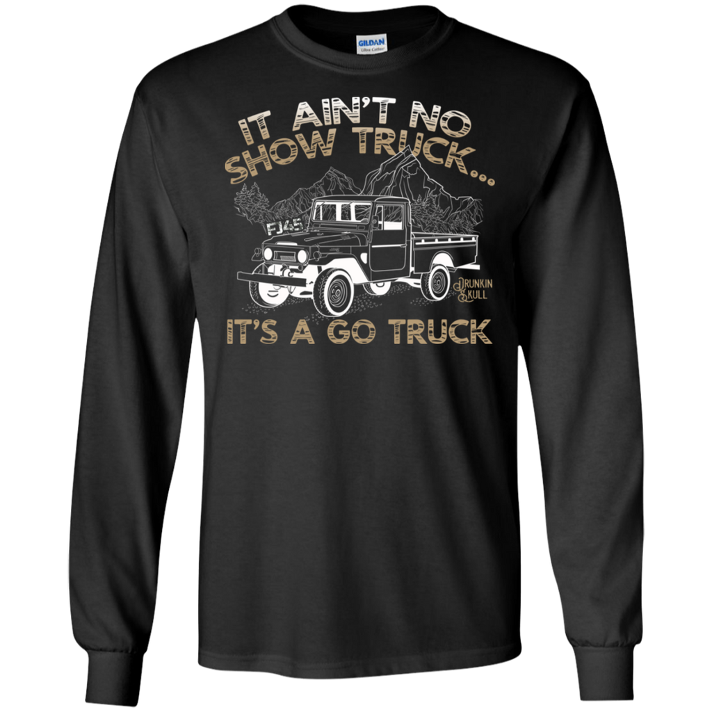FJ45 Toyota Land Cruiser Go Truck Long Sleeve Tee