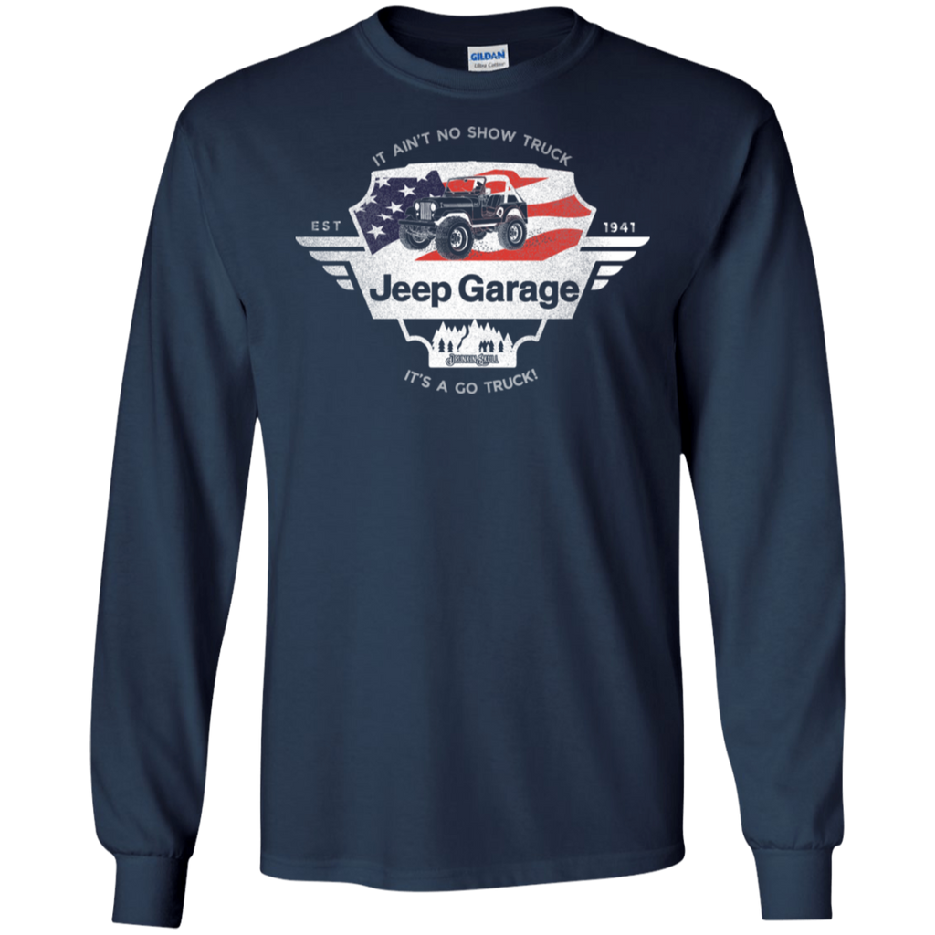 Jeep Garage Long Sleeve Tee